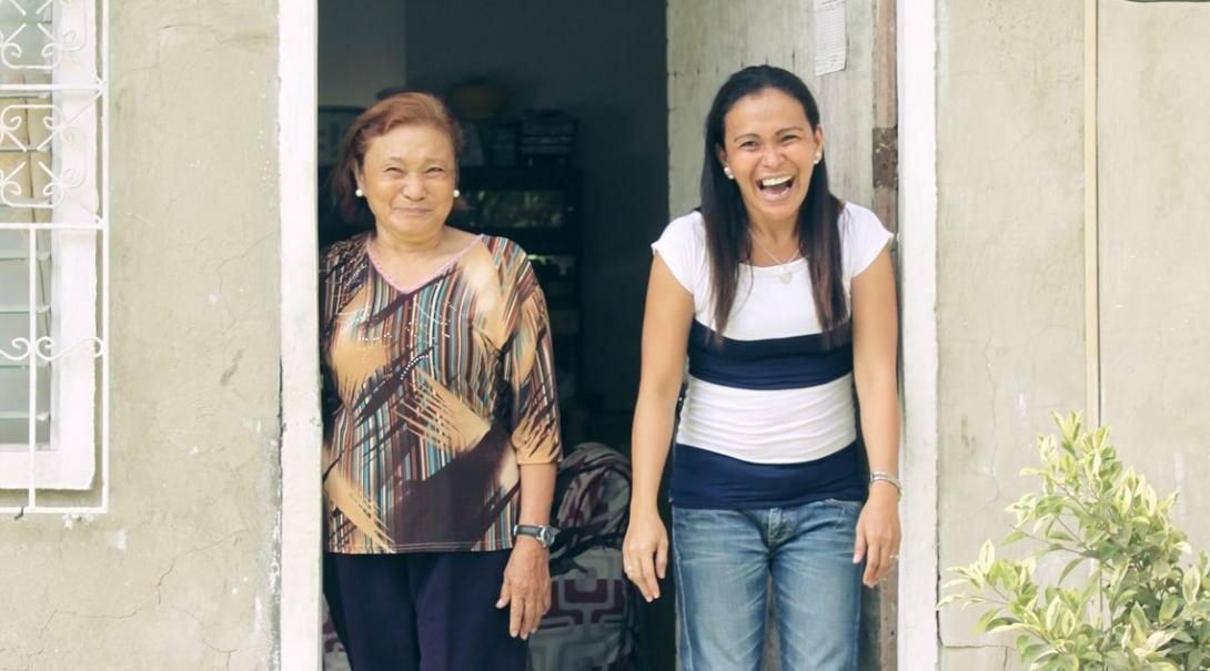 フィリピンのホストファミリー